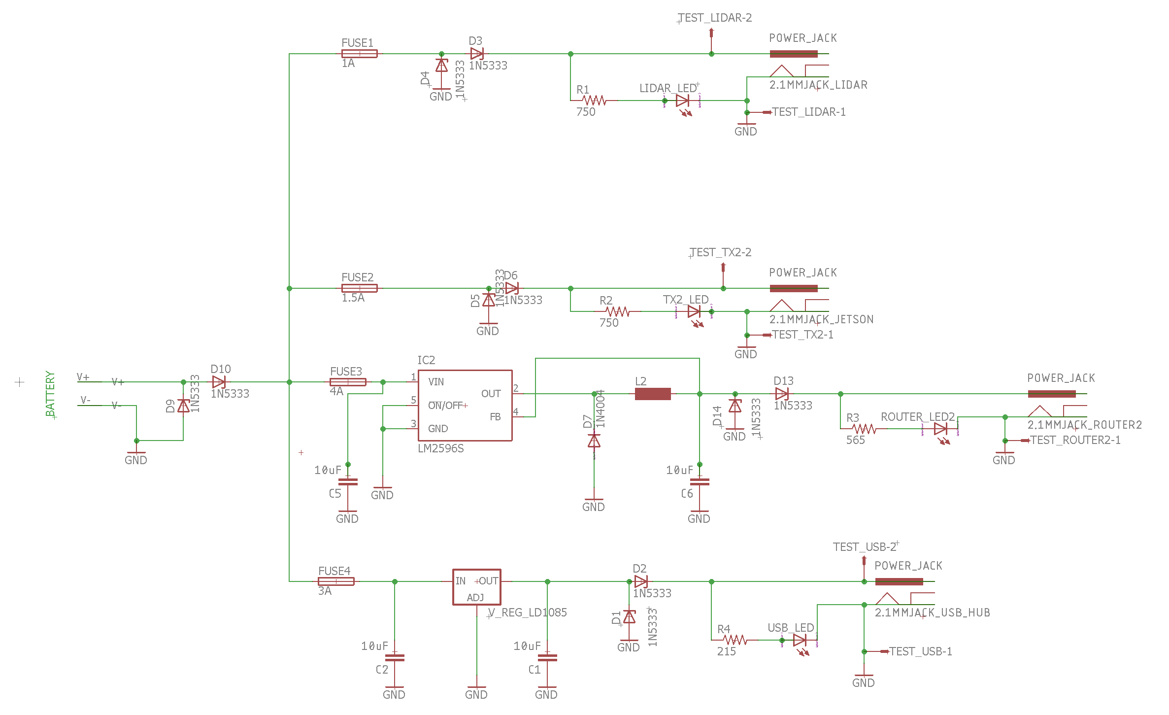 Power Distribution Board – MRSD Team E